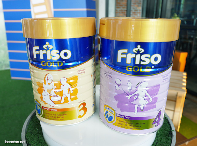Time for some FRISO Gold?