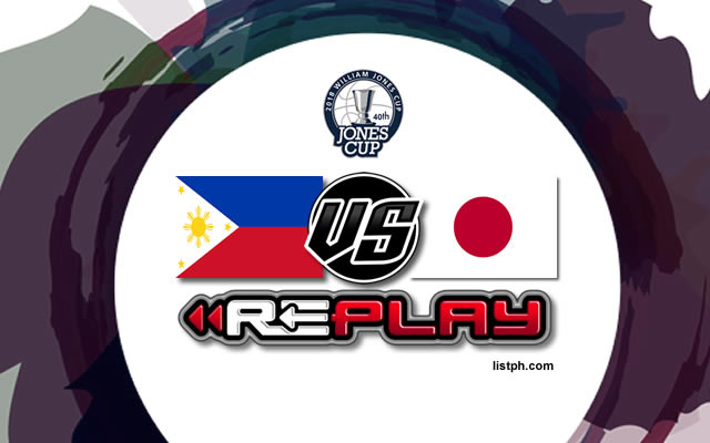 Video Playlist: Philippines-Ateneo vs Japan game replay July 18, 2018 Jones Cup