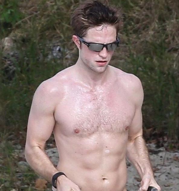 Alexissuperfans Shirtless Male Celebs Robert Pattinson -1167