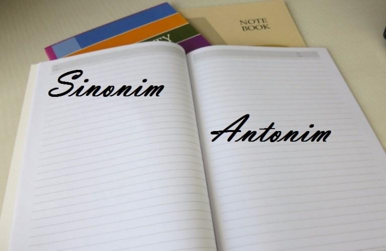 Pengertian Antonim Dan Sinonim Dalam Bahasa Indonessia Saung Ilmu Com
