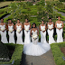 Photos: Bride and her bridesmaids dressed in all white has got Instagram talking