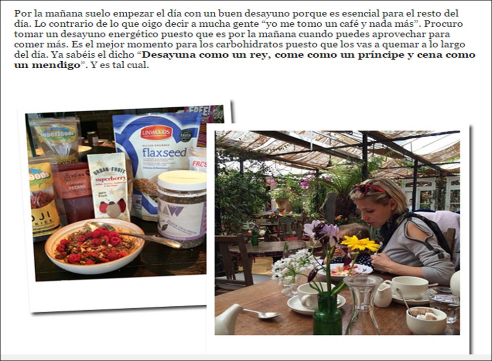 Educa tu dieta enero 2015 for Ariadne artiles medidas