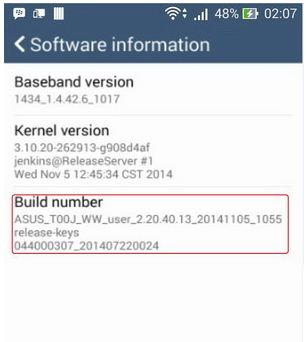 Cara Aktifkan USB Debugging Asus Zenfone 4 5 6