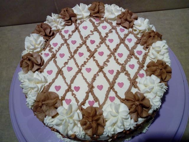 tort orzechowo smietankowy tort orzechowy biszkopt orzechowy biszkopt orzechowo kakaowy biszkopt z kakao krem budyniowy krem zesmietany i mascarpone tort z kremem tort z kremem budyniowym tort ostatkowy tort urodzinowy tort na rocznice slubu