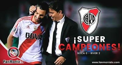 River Plate se coronó campeón de la Supercopa Argentina 2018
