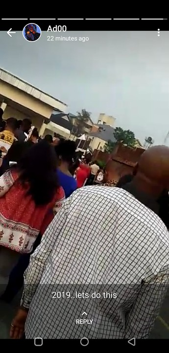 Bbnaija 2019: Crowds Storm Enugu Audition Ground As Early As 6am (Photos)