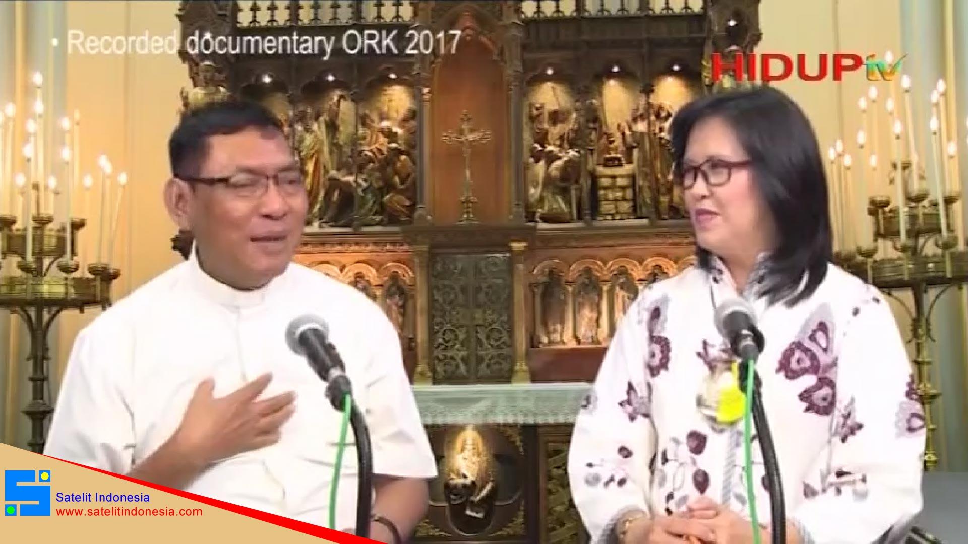 Frekuensi siaran Hidup TV di satelit Palapa D Terbaru