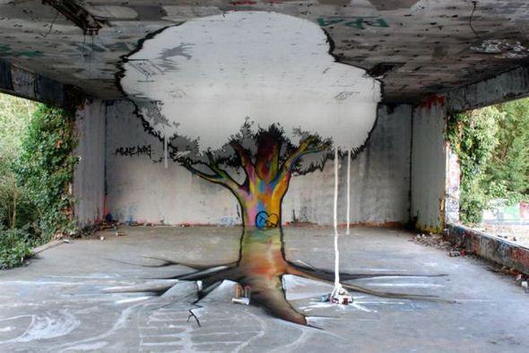 الفن بأى شىء وعلى أى شىء street-art-work-17.j