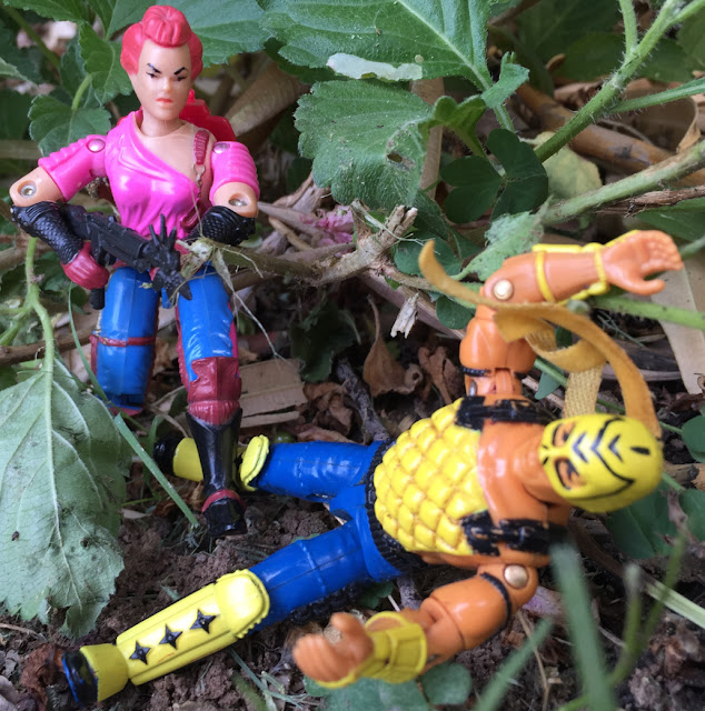 1992 T'Jbang, Ninja Force, 1986 Zarana, Dreadnok