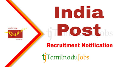 India Post Recruitment 2019, India Post Recruitment Notification 2019, Latest India Post Recruitment update