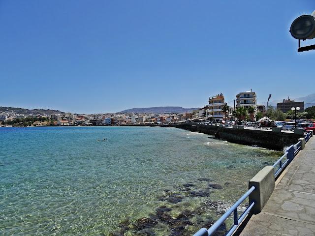 promenada wzdłuż morza Chania i okolice