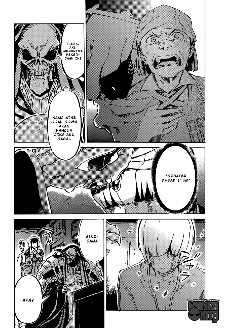 Baca Manga Overlord chapter 9 Bahasa Indonesia