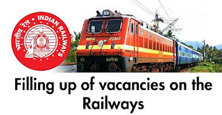 Filling up of vacancies on the Railways.