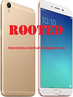 Cara Root Oppo R9