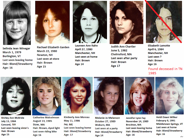 NEW ENGLAND COLD CASES: The Girls of New England: Missing