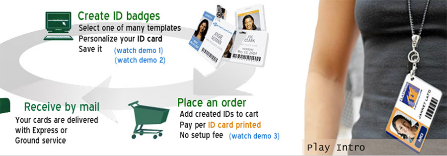 creating employee id badges online id badge accessories