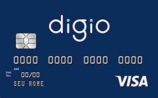 cartão de crédito sem anuidade digio bandeira visa