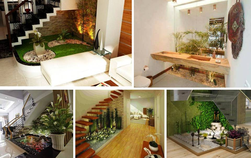 30 Spectacular Indoor Small Pebble Garden Ideas