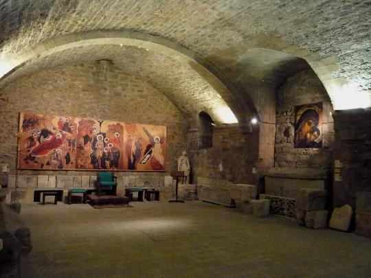 Cripta da Abadia Saint-Victor