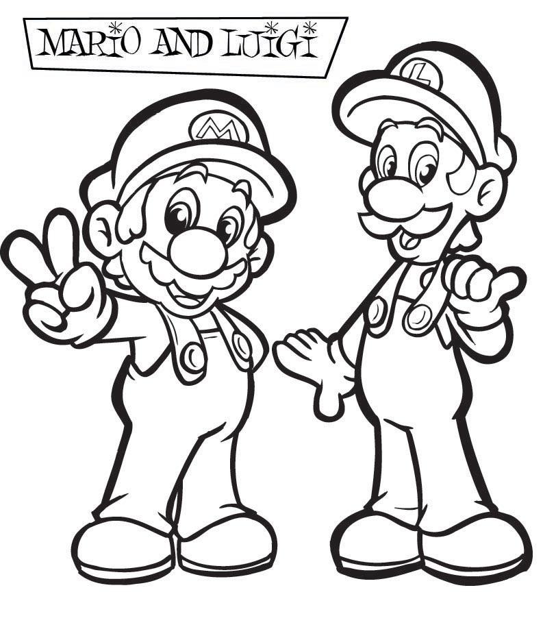 Desenhos Do Super Mario Para Colorir Desenhos Para Colorir E