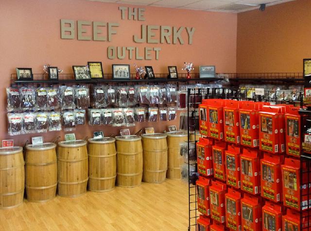 Beef Jerky Store no centro de Las Vegas