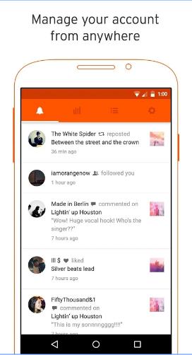 تحميل تطبيق ساوند كلاود بولز SoundCloud Pulse: for creators للأندرويد الإصدار الأخير 2017