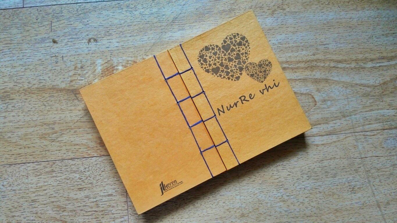 Notebook Handmade NurRe vhi by JL KEREN Creative