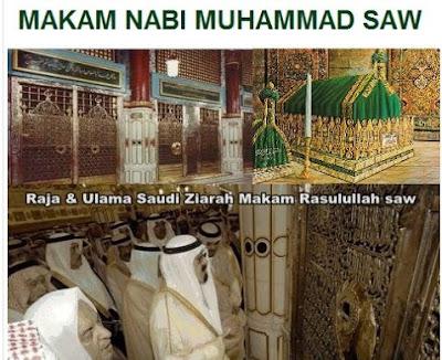 Makam Nabi Muhammad SAW Asli