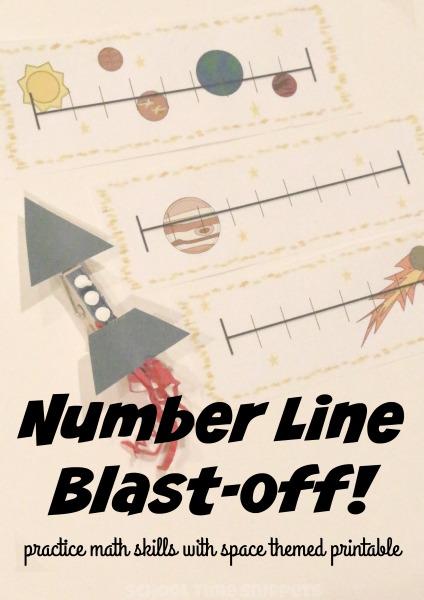 printable number line