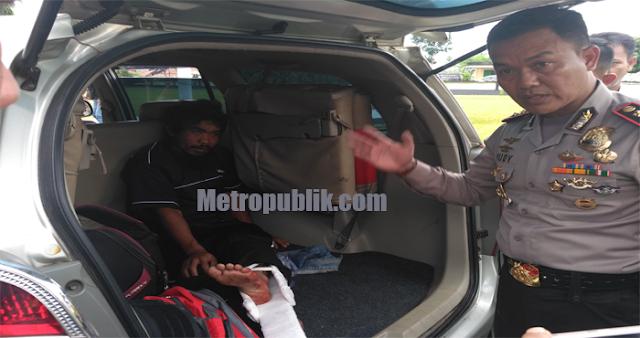 Pelaku Pembunuhan Berencana Di Sukadana, Di Tangkap Di Bangka Belitung