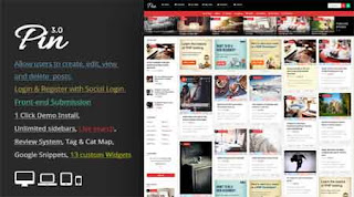 Pin WordPress Theme