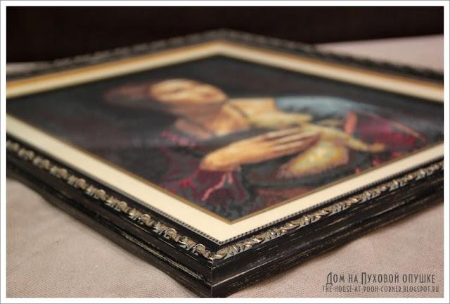 Вышивка известных портретов