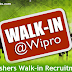 Wipro Freshers Walkin Recruitment 2016-2017 in September 2016.