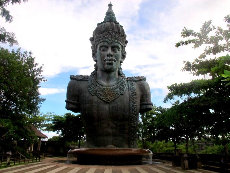 Magnificent Garuda Wisnu Kencana Statute
