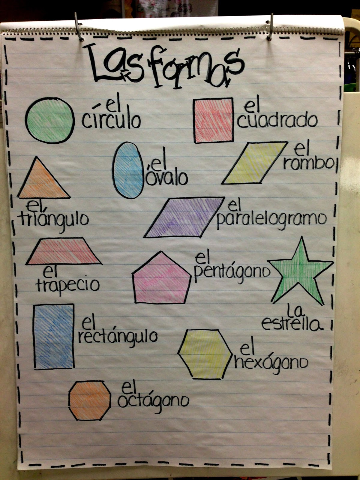The Second Grade Superkids Shapes Galore