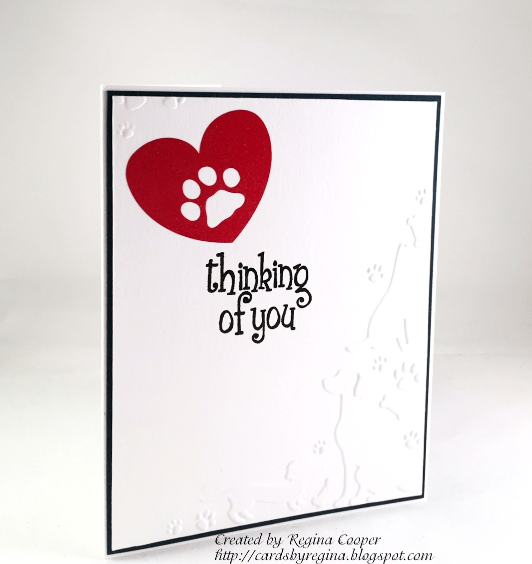 cards by regina loss of pet sympathy card