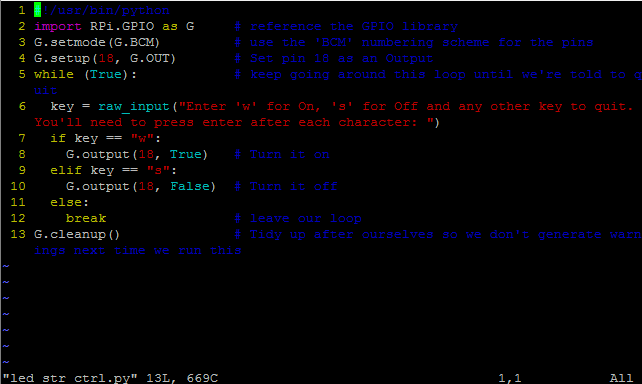 how to break a loop python certain key press