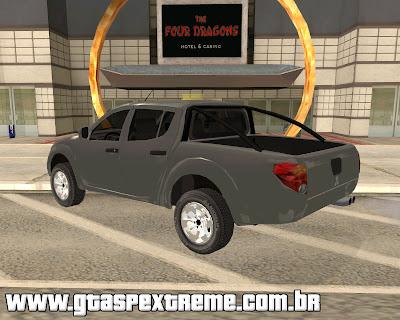 Mitsubishi L200 Triton para grand theft auto