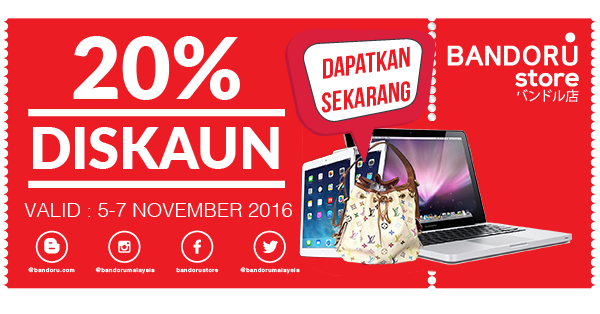 Win a LV Bag, Macbook and iPad from Bandoru Store!