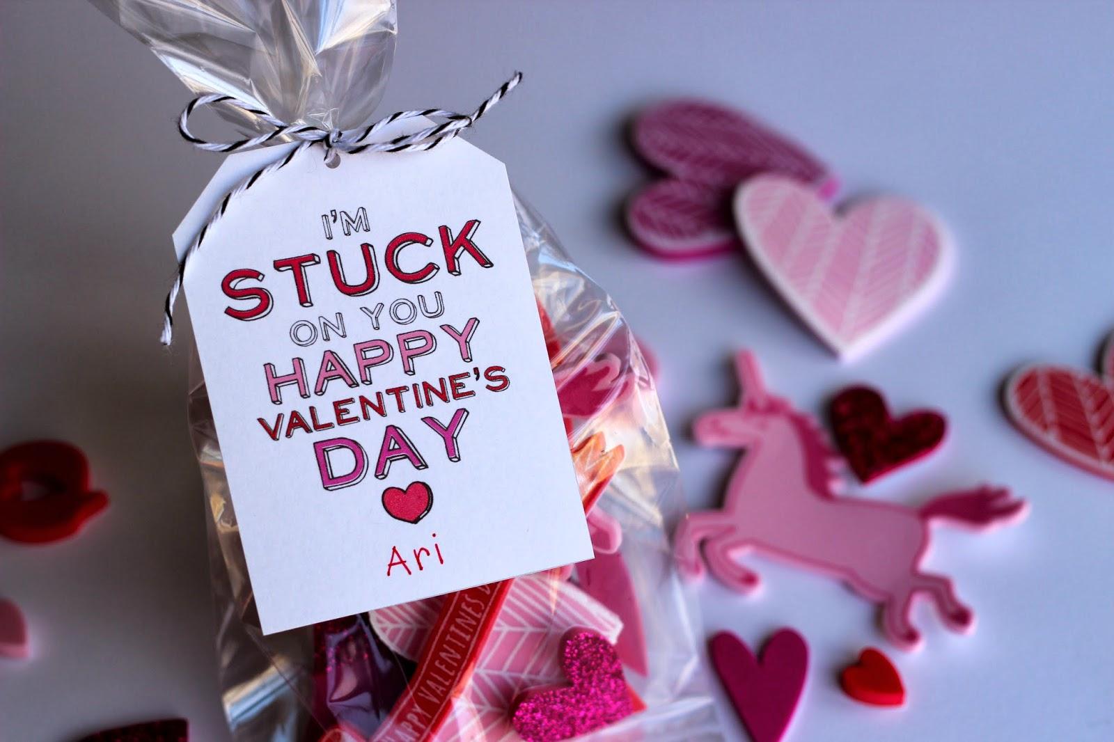 Sticker Valentines For Kids Free Printable