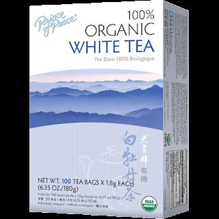 الشاي الابيض الطبيعي الخالي من الاضافات .. عباره عن 100 كيس..
