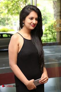 Actress Nikita Bisht Pictures in Black Long Dress at Akritti Elite Exhibition Launch  0003.jpg