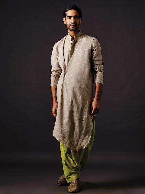 model baju muslim atasan pria terbaru