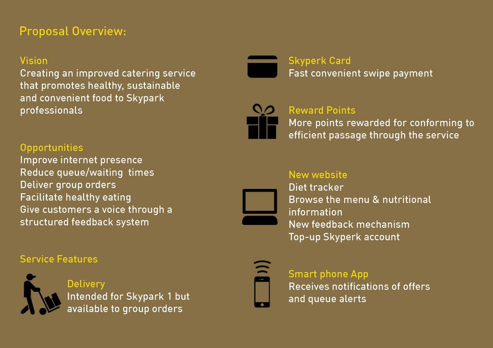 service design project improved service proposal