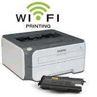 Cara Setting Wireless Printer Brother