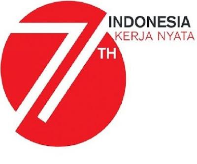 Logo HUT ke-71 RI