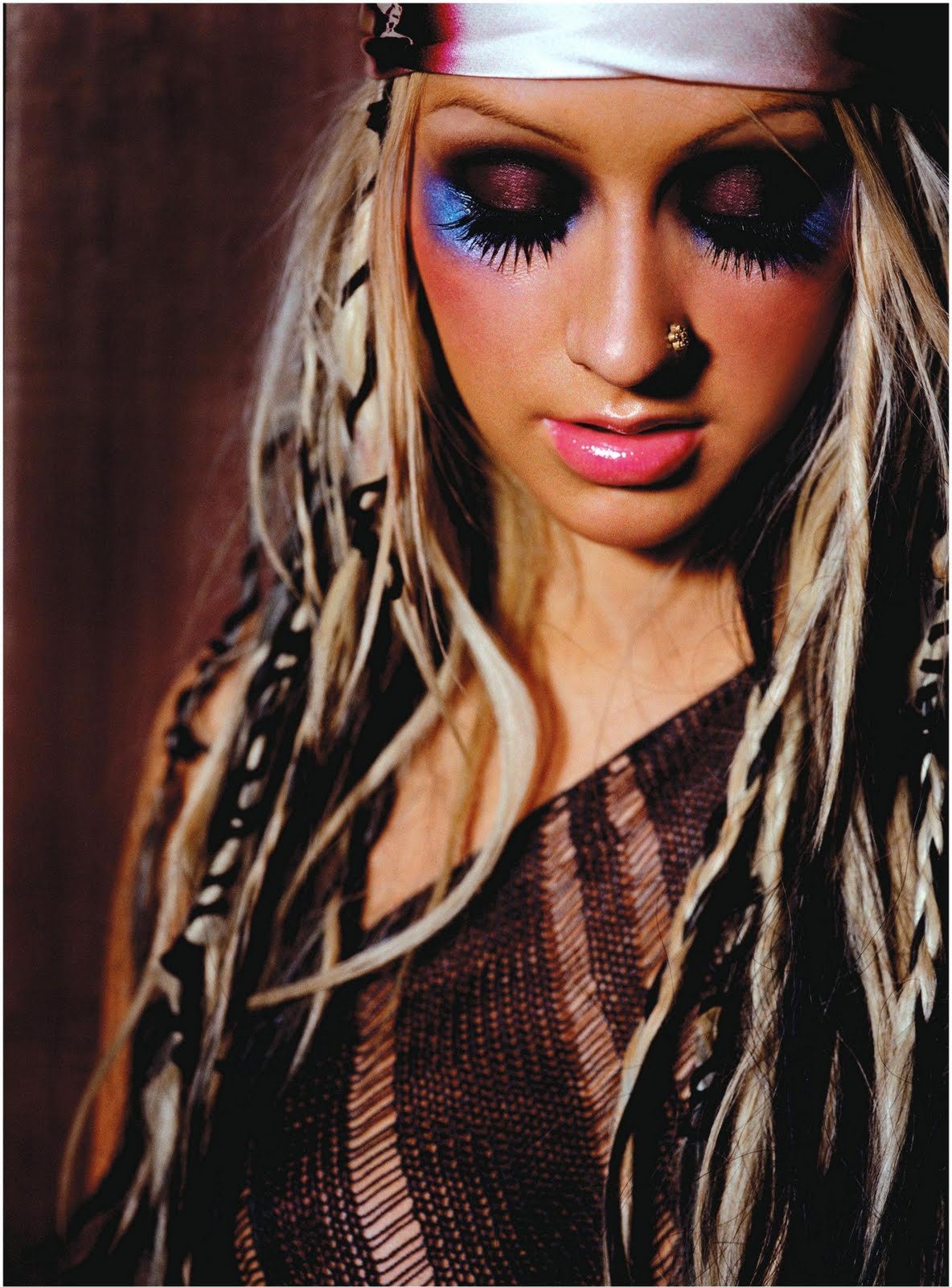 Lookin Like A Superstar Christina Aguilera Stripped
