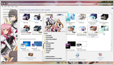 Download Kumpulan Tema Anime Windows 7 Super Keren