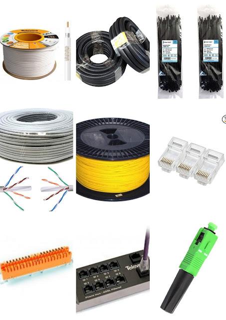 Equipos + Herramientas + Materiales utilizados en la Infraestructura Común de Telecomunicaciones | ICT | Precios