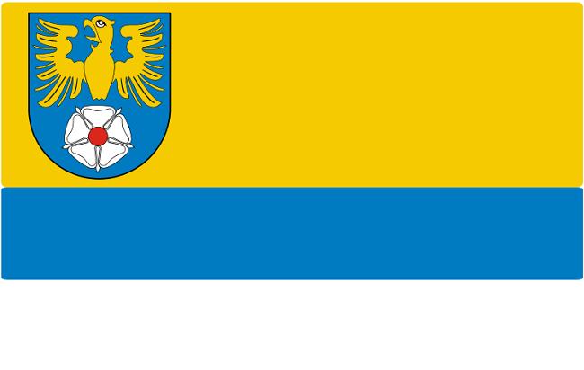 Flaga powiatu tarnogórskiego
